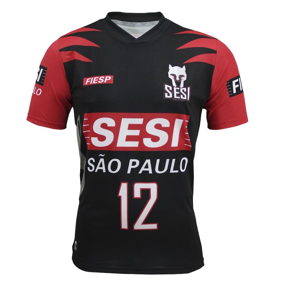 856e8b56f3 Camiseta Nakal SESI Vôlei São Paulo - Masculina