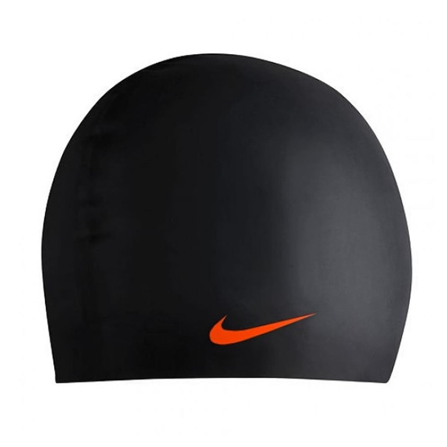 Touca de Natação Nike Solid Silicone Cap - 001 1ae27d55152