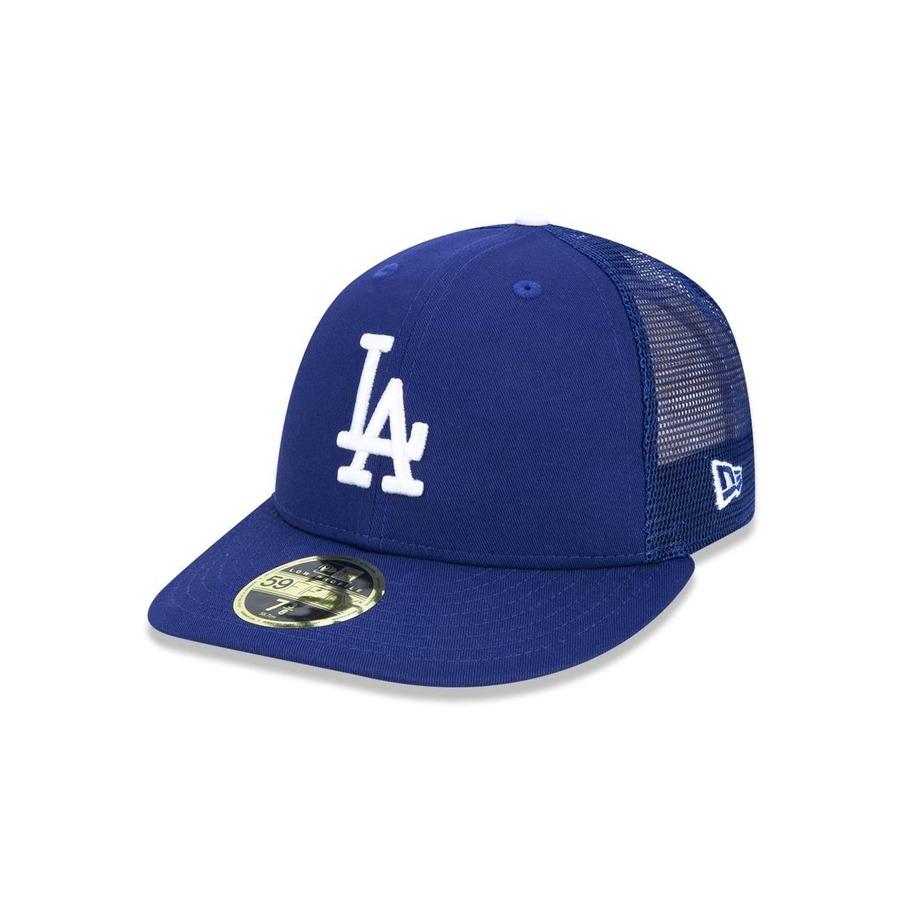 41b94310d Boné Aba Reta 5950 New Era Los Angeles Dodgers MLB 44769 - Trucker -  Fechado - Adulto