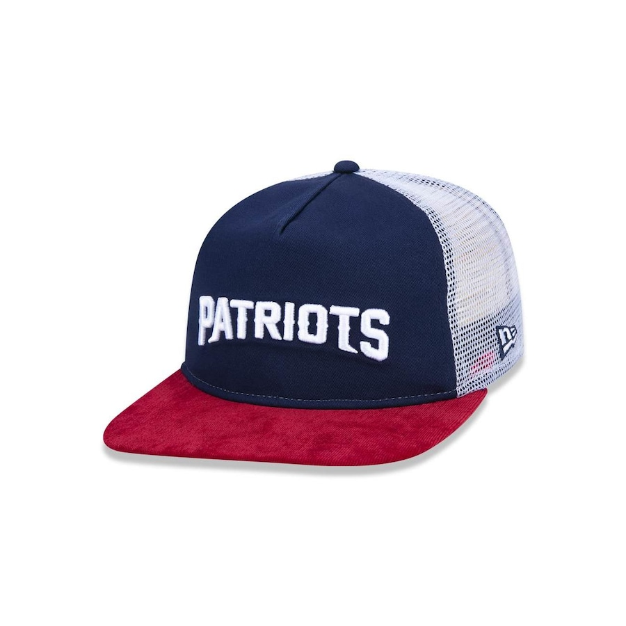 Boné Aba Reta New Era 950 Original Fit NFL New England Patriots 44580 -  Snapback - Adulto 97141457372