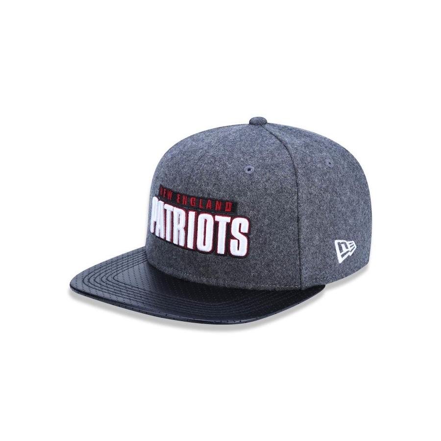 Boné Aba Reta New Era 950 Original Fit NFL New England Patriots 44647 -  Snapback - Adulto 2c6de9bde51d0