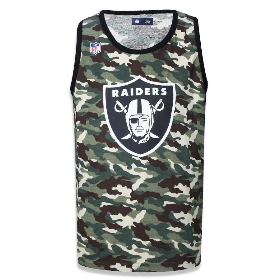 Camiseta Regata New Era NFL Oakland Raiders 40424 - Masculina 41f211f54ec