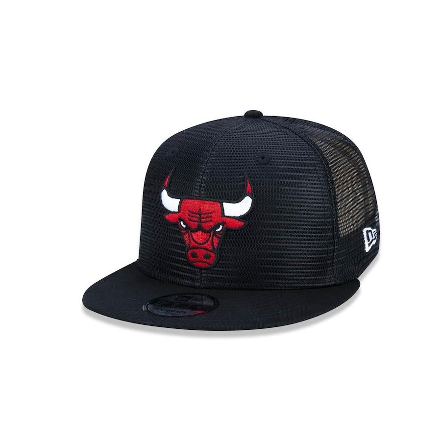 a314741c8d724 Boné Aba Reta New Era 950 NBA Chicago Bulls 44775 - Snapback - Adulto
