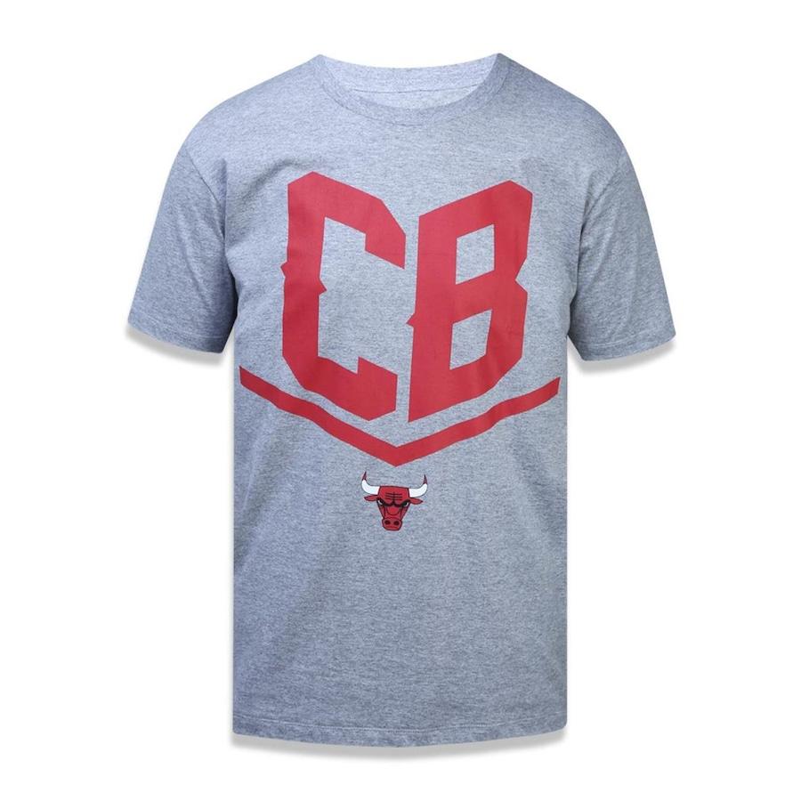 1e099f0223b4b Camiseta New Era NBA Chicago Bulls 43003 - Masculina