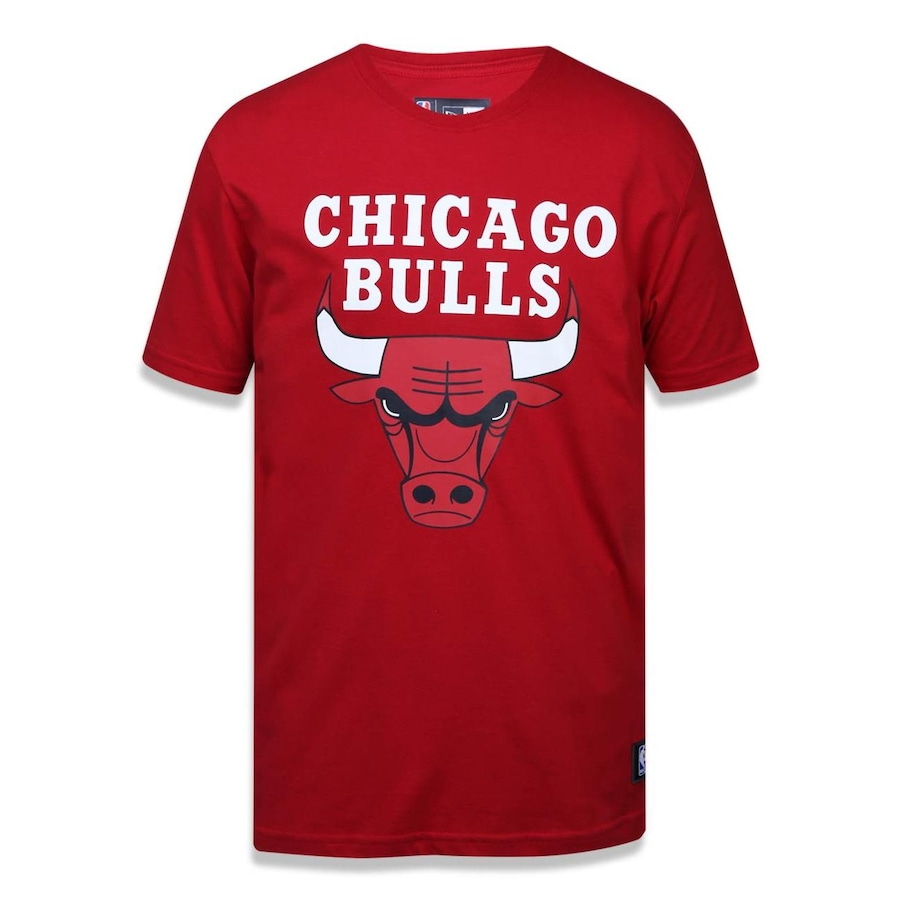 Camiseta New Era NBA Chicago Bulls 36866 - Masculina bdbf7e8171a84