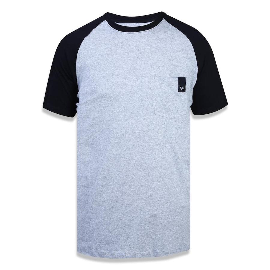 Camiseta Manga Raglan New Era Branded 42069 - Masculina 824debc4ed710