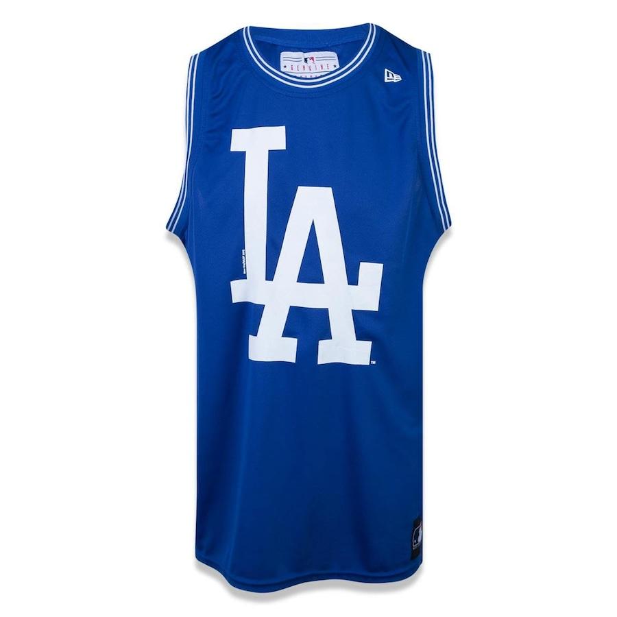 Camiseta Regata Machão New Era MLB Los Angeles Dodgers 22624 - Masculina fd02c78dcc8