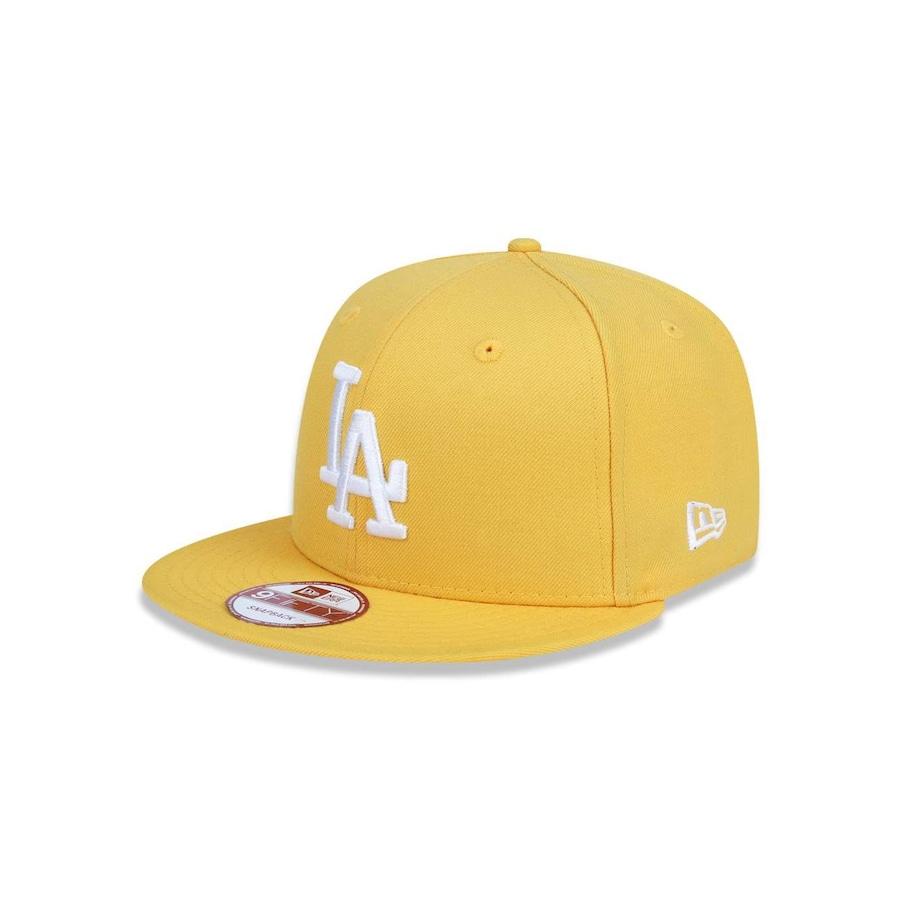 Boné Aba Reta New Era 950 MLB Los Angeles Dodgers 18993 - Snapback - Adulto 91d29d0689b