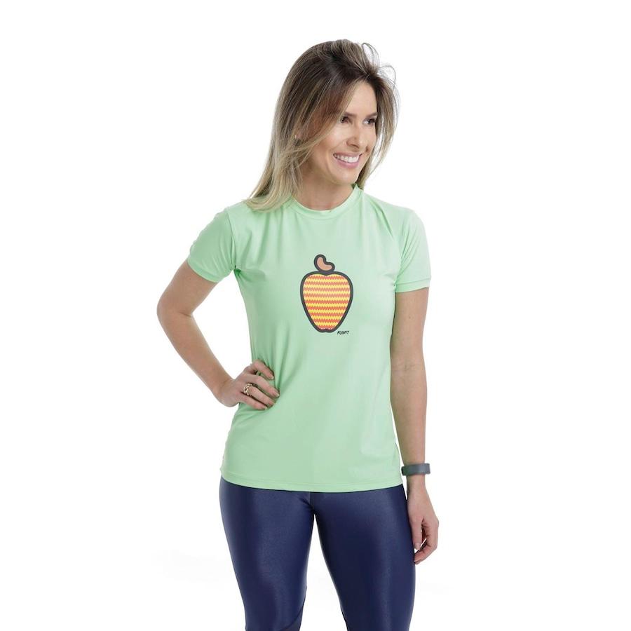 Camiseta Funfit Premium Caju - Feminina b852ea6abb06e
