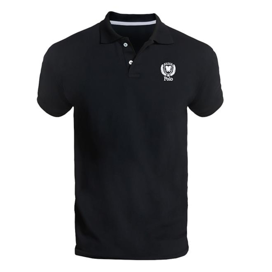 Camisa Polo Polo Match Piquet Slim Fit Brasão - Masculina - 3 Unidades c82301bcc2c9f