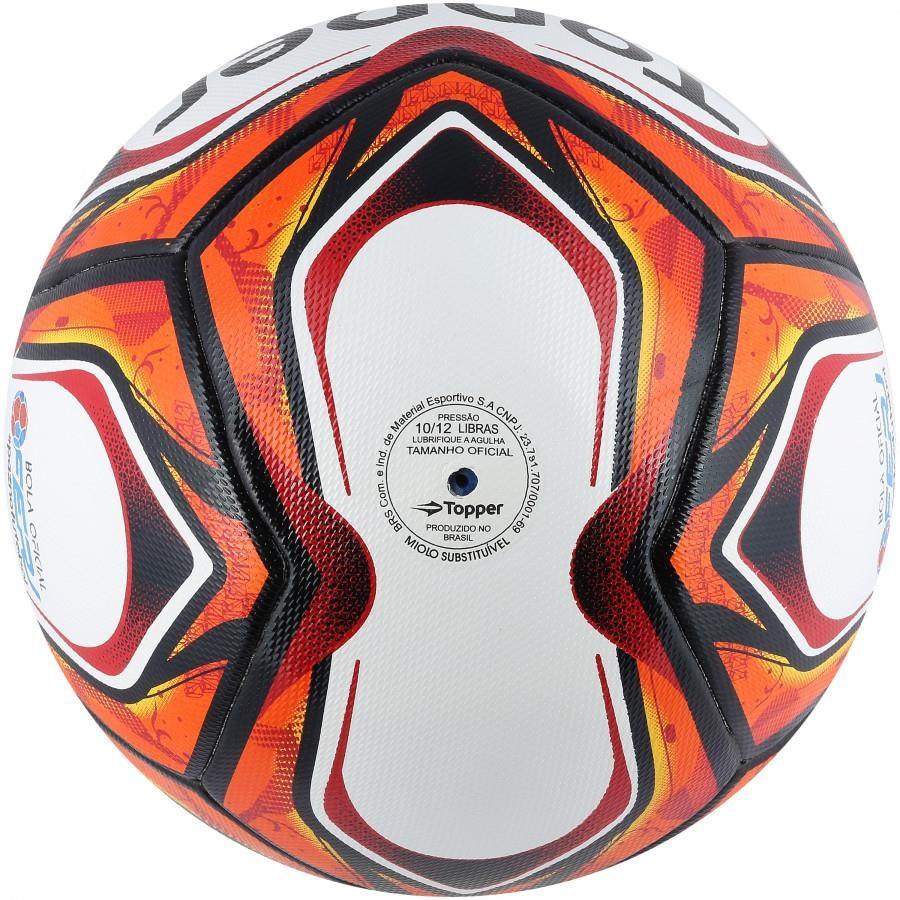 d174151c88 Bola de Futebol de Campo Topper Velocity Pro Samba 2018