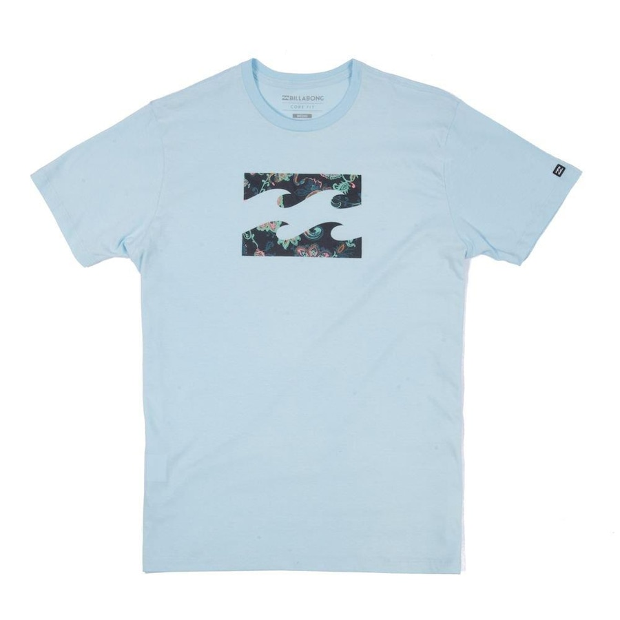 Camiseta Billabong Team Wave V - Masculina 1d3c18c2ea23