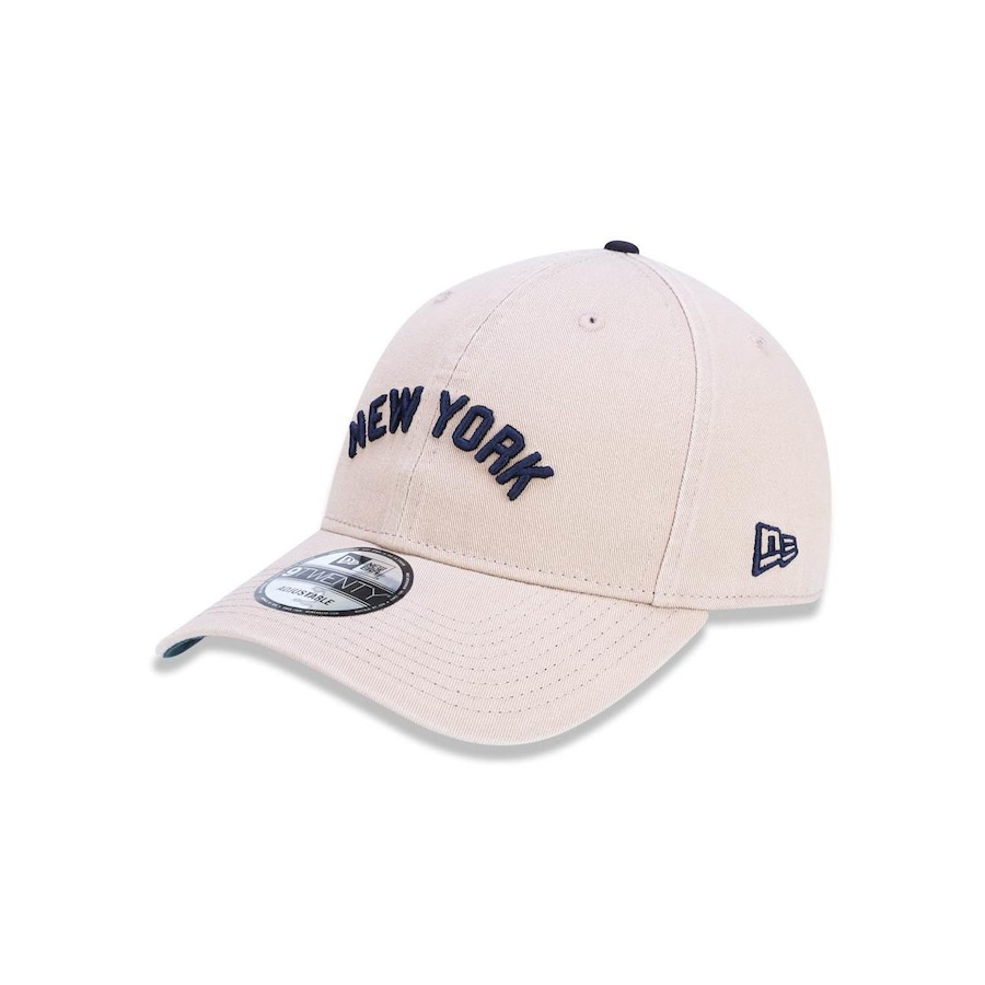 2c7b2b63f52c3 Boné Aba Curva New Era 920 MLB New York Yankees 43588 - Strapback - Adulto