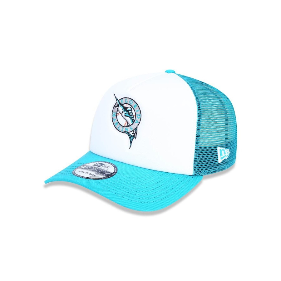 c846c020bf4a9 Boné Aba Curva New Era 940 MLB Florida Marlins 43607 - Snapback - Adulto