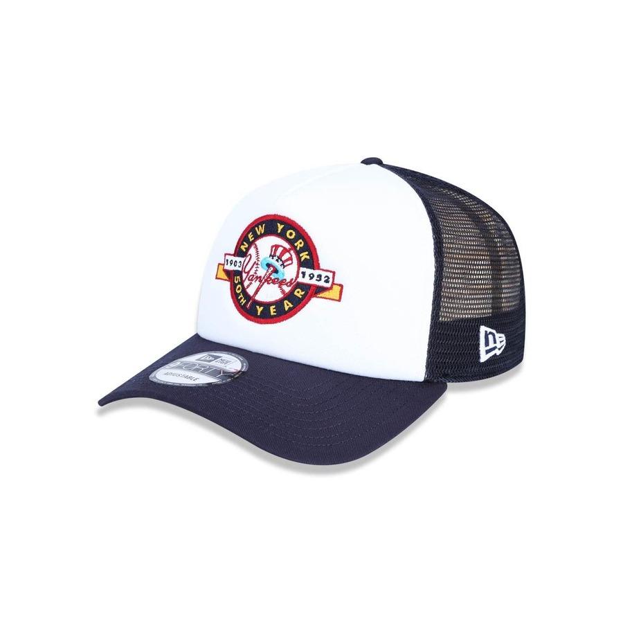Boné Aba Curva New Era 940 MLB New York Yankees 43598 - Snapback - Adulto d6c98b0cd97