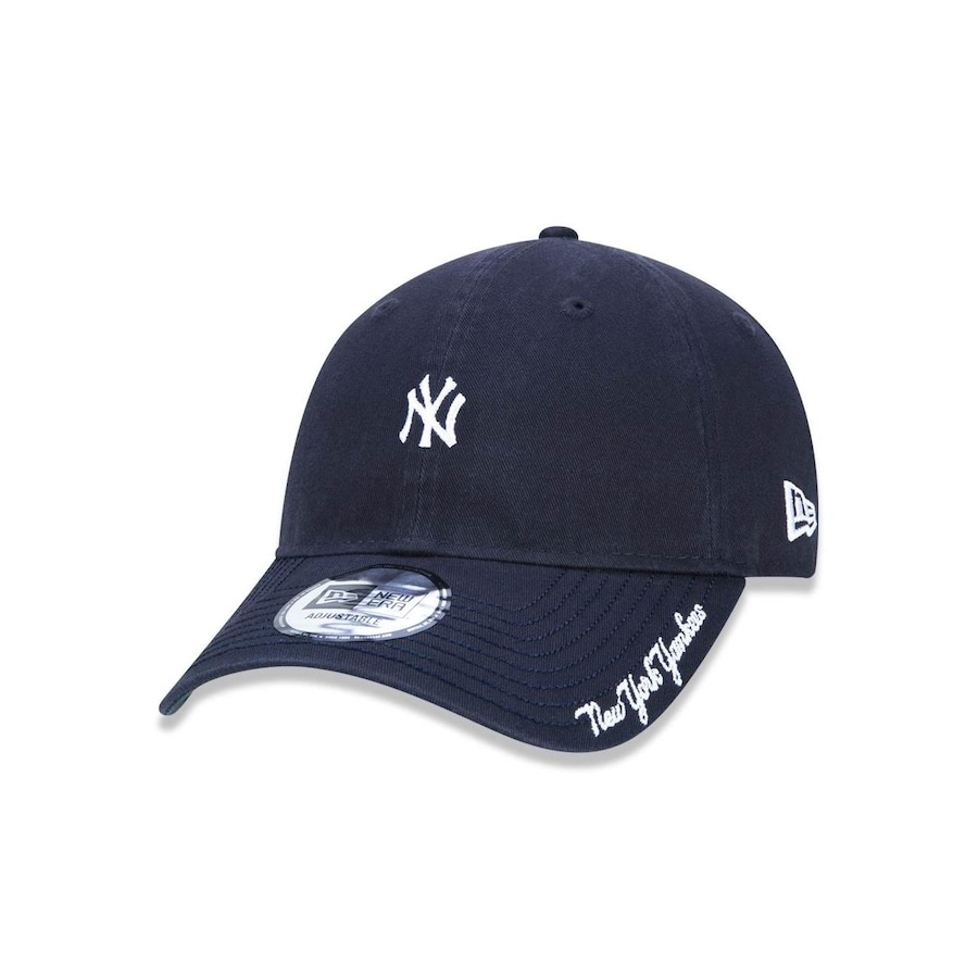 Boné Aba Curva New Era 940 MLB New York Yankees 44741 - Strapback - Adulto db43cef5c71