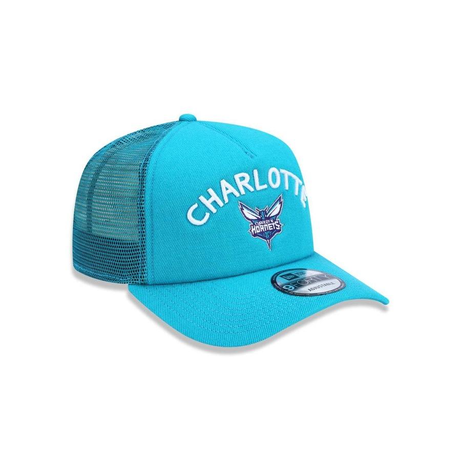 cbf34ed55 Boné Aba Curva New Era 940 NBA Charlotte Hornets 44429 - Snapback - Adulto
