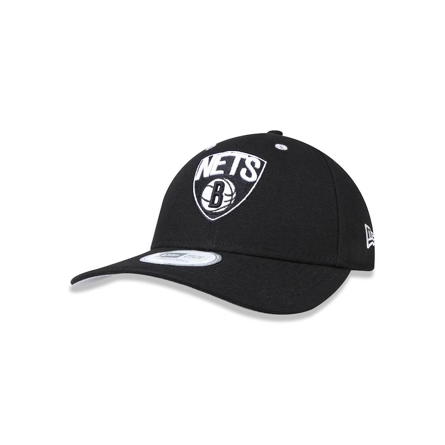 f90854ed8 Boné Aba Curva New Era 940 NBA Brooklyn Nets 36754 - Snapback - Adulto