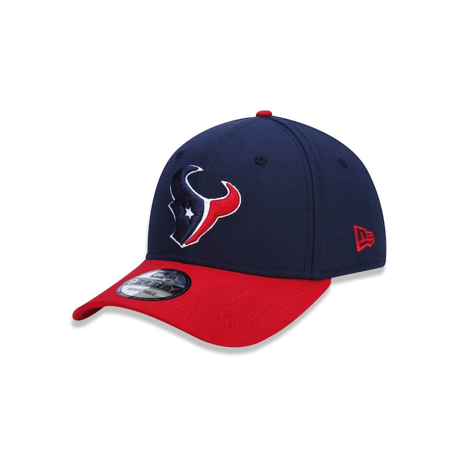 40d80da7104d6 Boné Aba Curva New Era 940 NFL Houston Texans 42170 - Snapback - Adulto