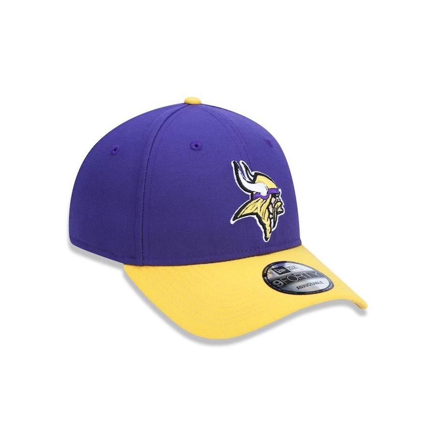 358fb0ad1176d Boné Aba Curva New Era 940 NFL Minnesota Vikings 42175 - Snapback - Adulto