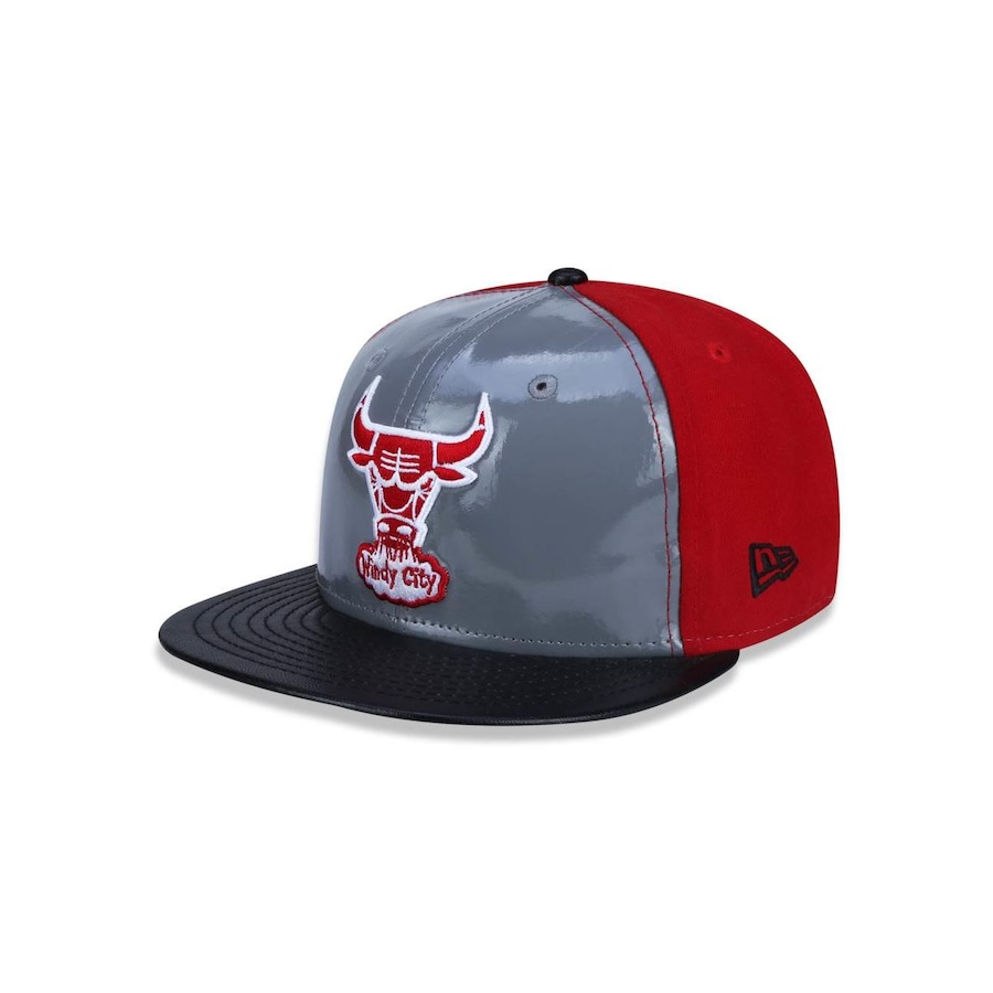 8e899cc15190d Boné Aba Reta New Era 5950 NBA Chicago Bulls 27565 - Fechado - Adulto