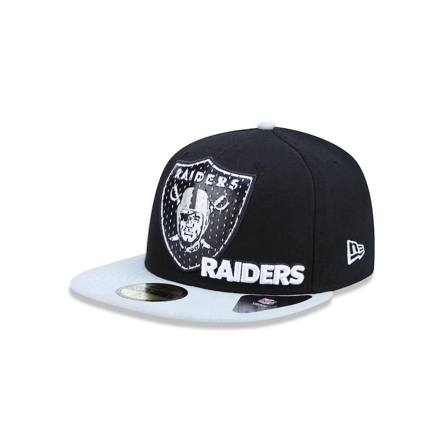 Boné Aba Reta New Era 5950 NFL Oakland Raiders 24273 - Fechado - Adulto 049f01da513