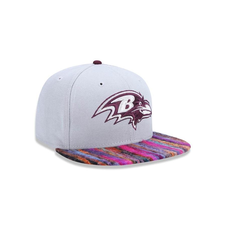 Boné Aba Reta New Era 950 NFL Baltimore Ravens 27572 - Strapback - Adulto d88a772c276