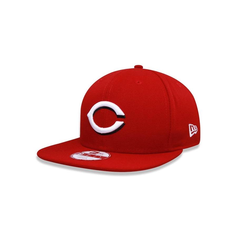37325b76de49e Boné Aba Reta New Era 950 Original Fit MLB Cincinnati Reds 30000 - Snapback  - Adulto