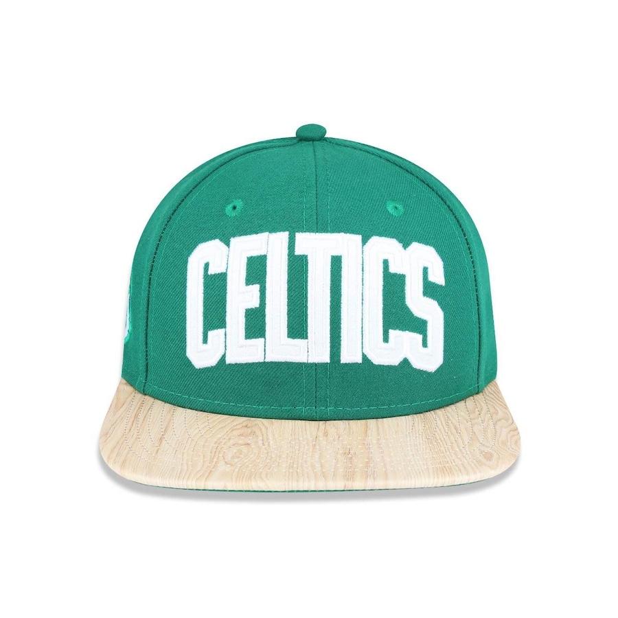Boné Aba Reta New Era 950 Original Fit NBA Boston Celtics 39083 - Snapback  - Adulto cfe55f8aeda
