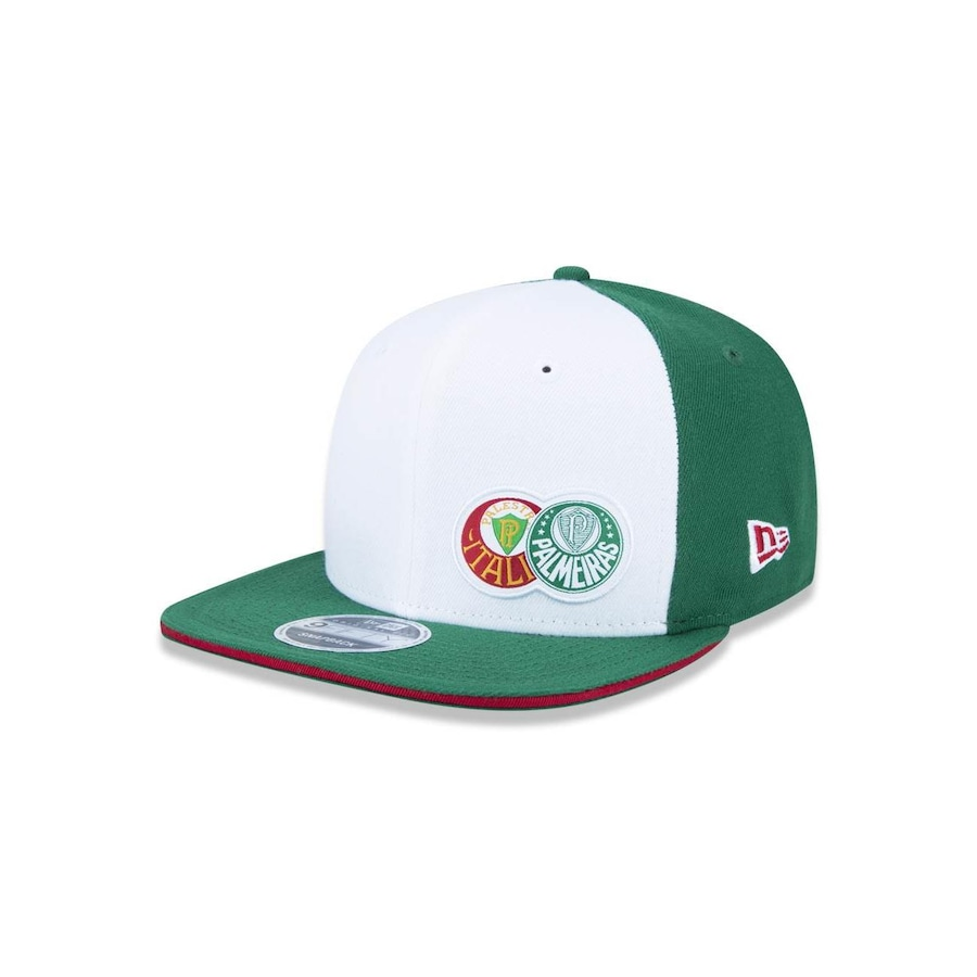 Boné Aba Reta New Era 950 Original Fit Palmeiras 39162 - Snapback - Adulto 1597c57553d