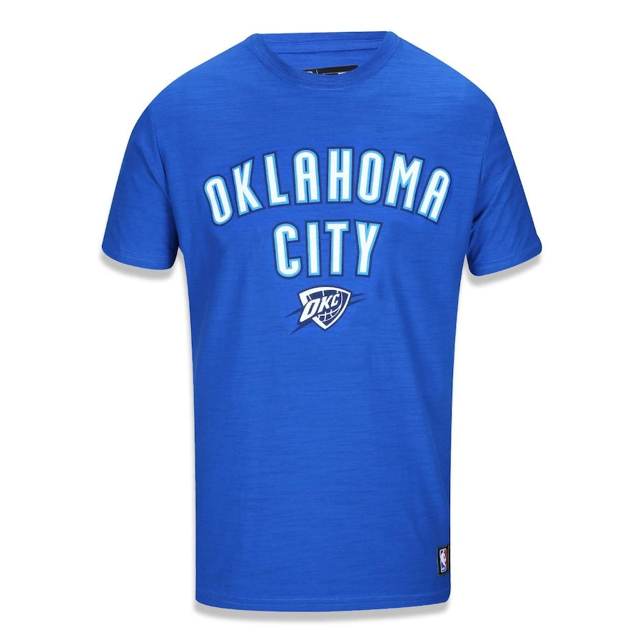 a5d7899ad Camiseta New Era NBA Oklahoma City Thunder 39274 - Masculina