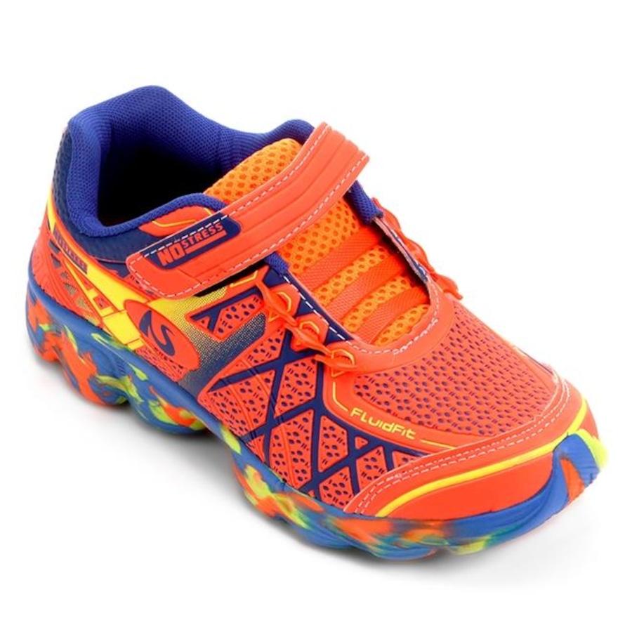 6ec409d2723 Tênis No Stress Velcro Running NO 15 - Infantil