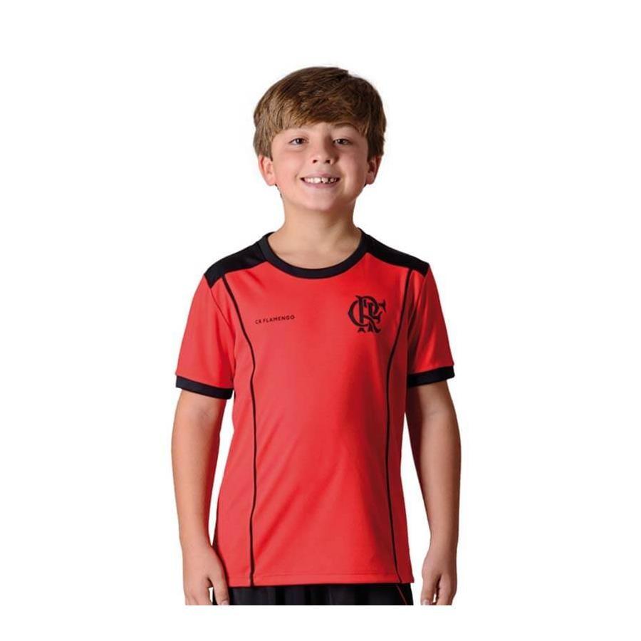 897181ed2a Camiseta do Flamengo Braziline Slide - Infantil