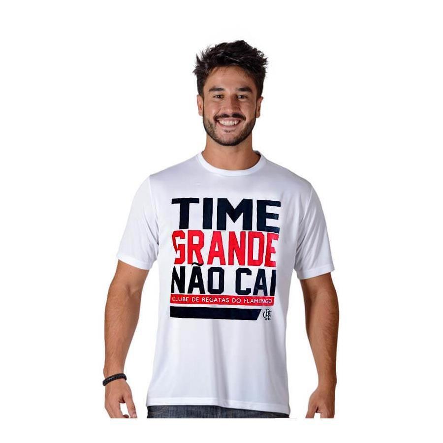 540b4c9a84 Camiseta do Flamengo Braziline Time Grande Não Cai - Masculina