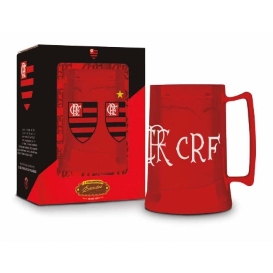 Caneca do Flamengo Gel Brasfoot - 450ml 8fa999671914d