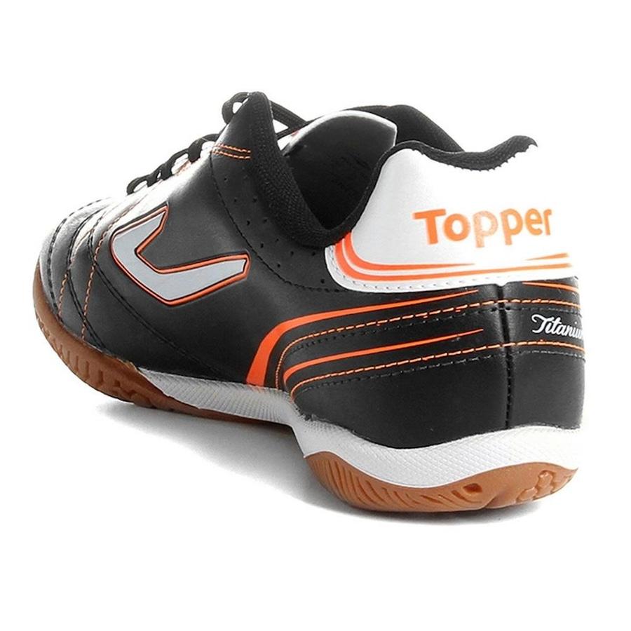 Chuteira Salão Topper Titanium 6 - Adulto 77a5d5a2eccaa