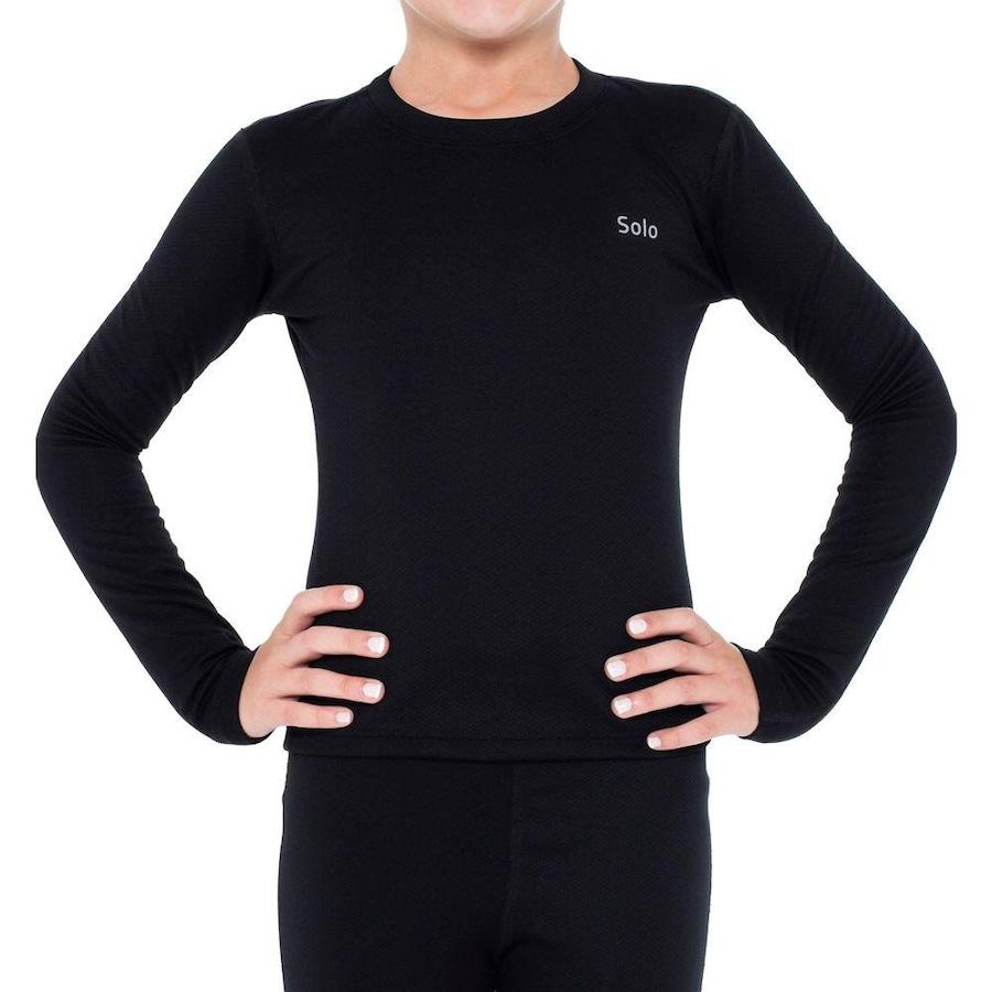 9722b0de4611e Camiseta Segunda Pele Térmica Solo X-Thermo® DS - Infantil