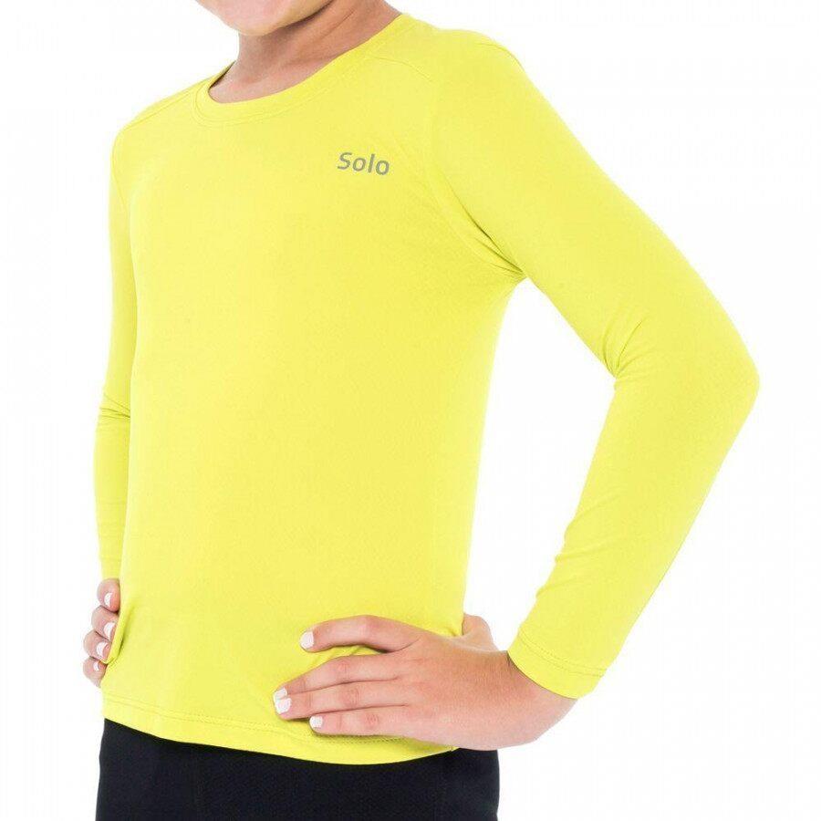 1cc502ba7 Camiseta Manga Longa Solo Ion UV com Proteção Solar - Infantil