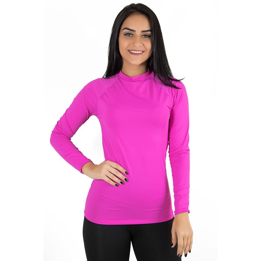2696b9d97318a Camisa Manga Longa Térmica Calif - Feminina