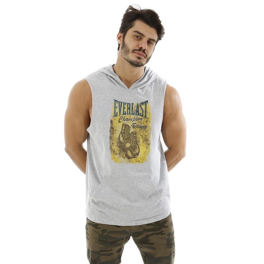 Camiseta Regata Machão com Capuz Everlast - Masculina f7136b3b937
