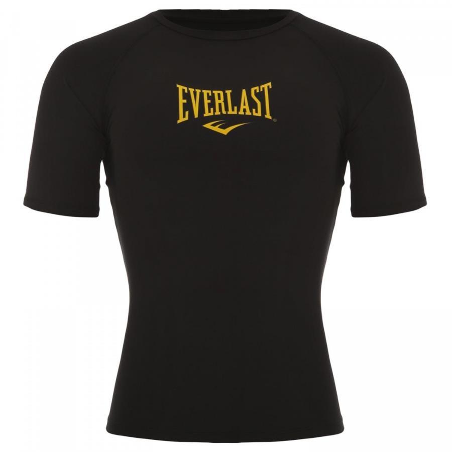 085c207144 Camiseta Segunda Pele Everlast Raglan com Escrito Central - Masculina