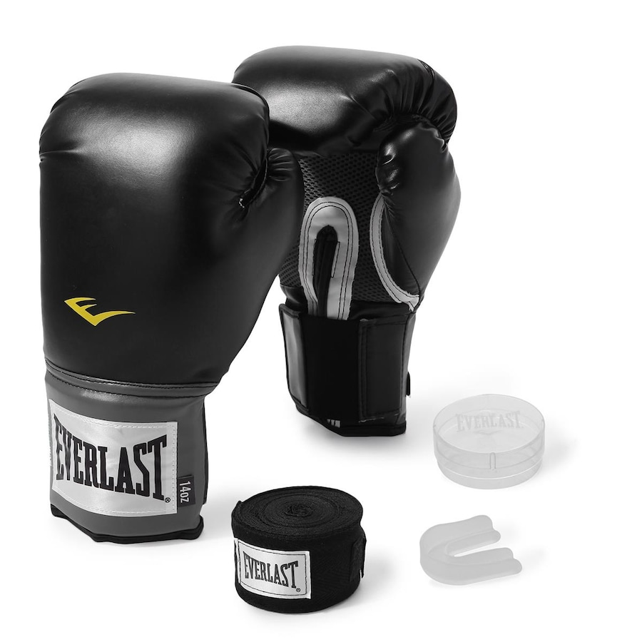 5a912fb21 Kit Everlast Training  Luva 14 Oz + Bandagem - 2