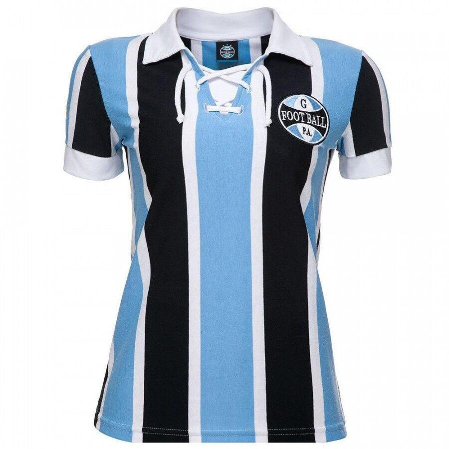 Camiseta do Grêmio Natural Cotton Retrô 1930 - Feminina 25421e9f7efb4