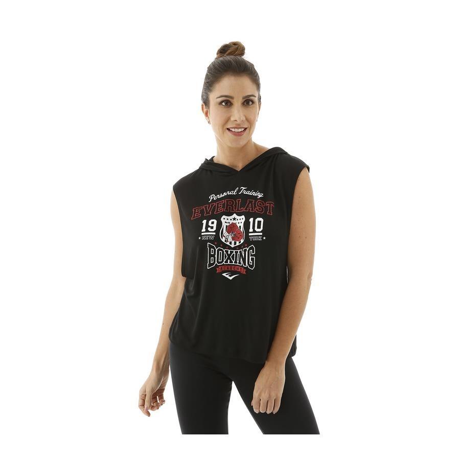 Camiseta Regata Everlast com Capuz - Feminina a454e4f9979