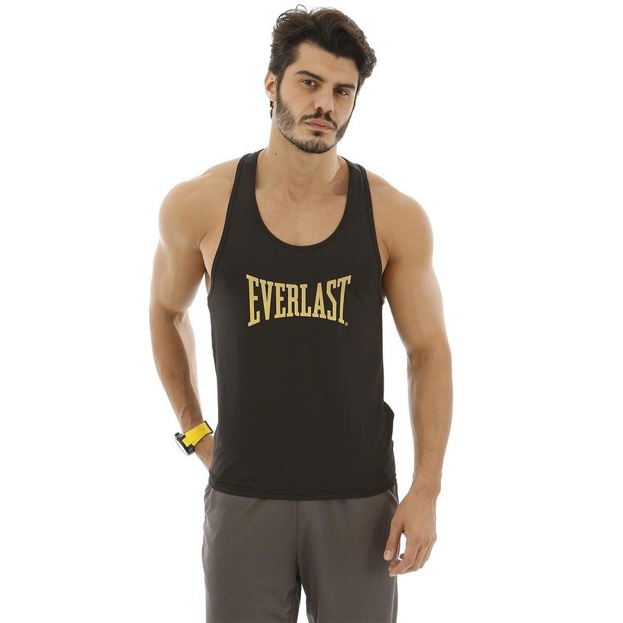 Camiseta Regata Everlast Maromba Dry Escrito Central 8cbd105e12b