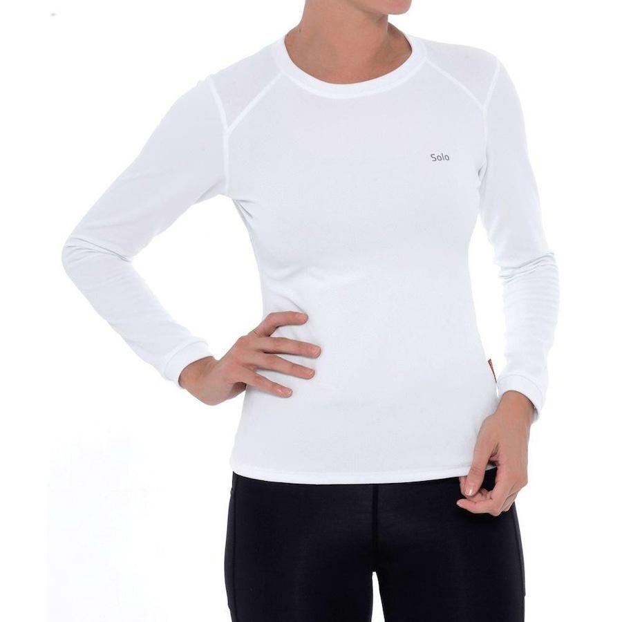 Camiseta Segunda Pele Térmica Solo X-Thermo DS - Feminina 790a72e275dd7