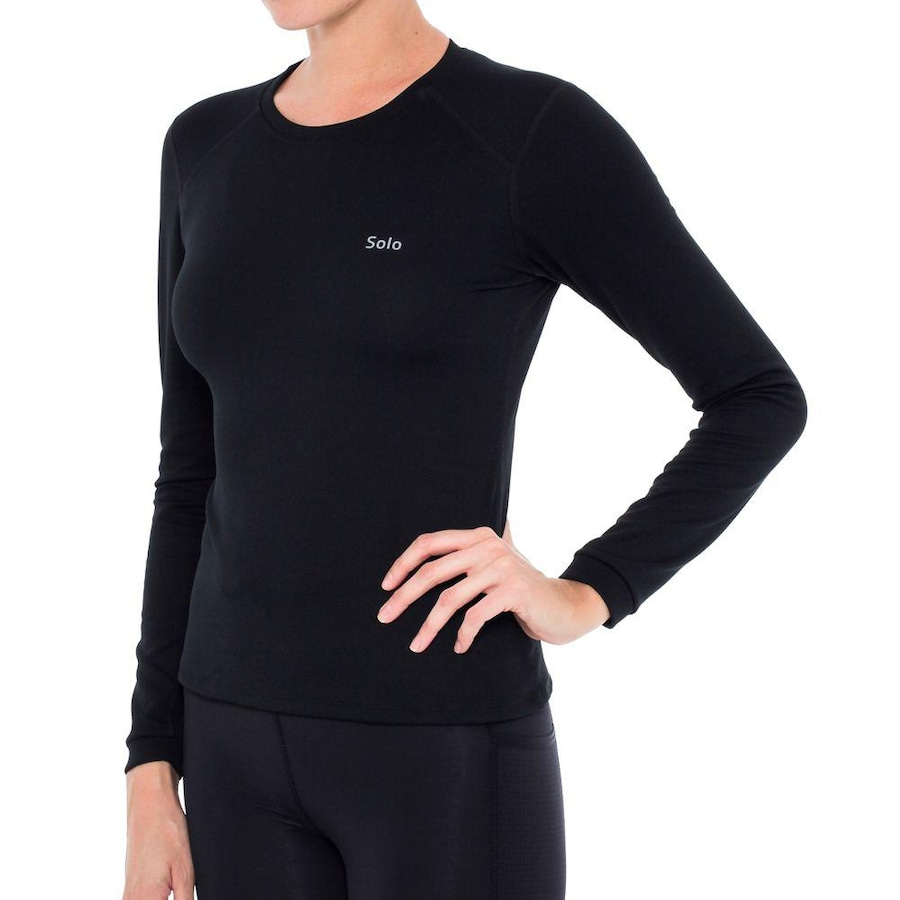Camiseta Segunda Pele Térmica Solo X-Thermo DS - Feminina 67713256280