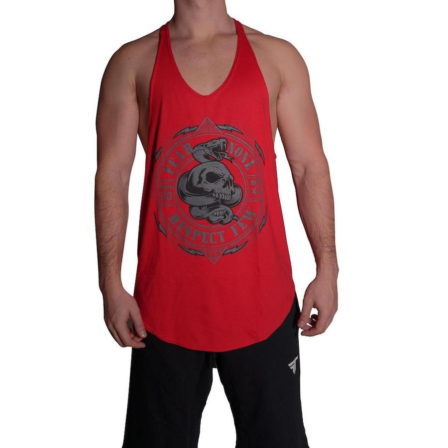 Camiseta Regata Fit Training Brasil Respect - Masculina a4624c83e26