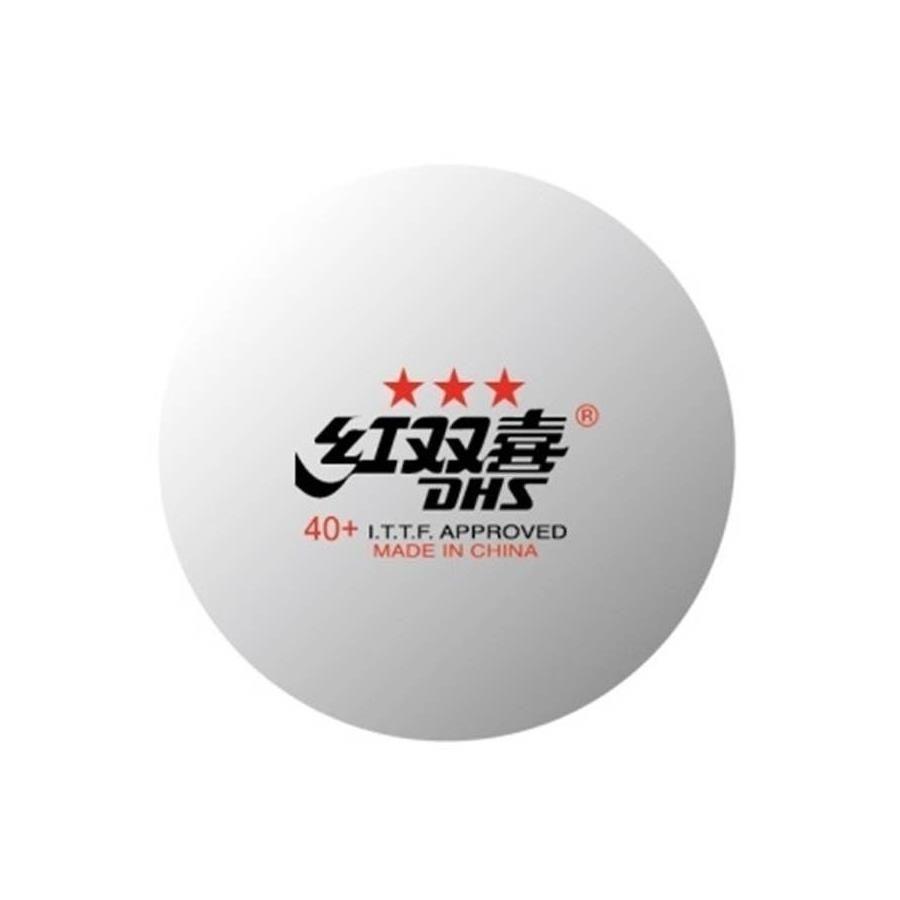 3d3978b8f Bola para Tênis de Mesa DHS Profissional - 6 unidades