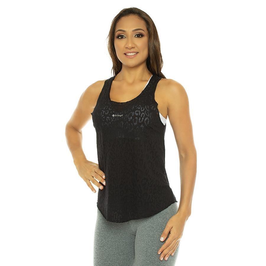 04a5614e72 Camiseta Regata Trinys Texline - Feminina
